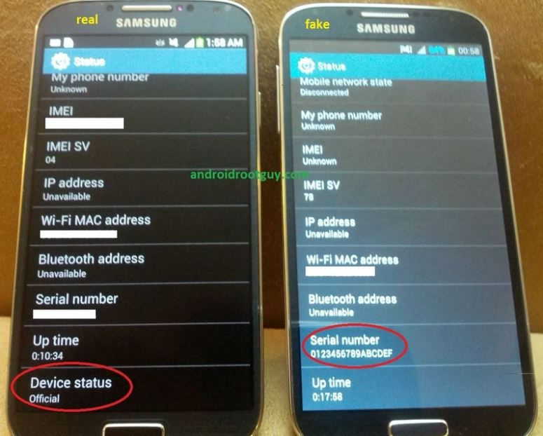 fb519adc9 FAKE Samsung Galaxy S4 Is All Over Ikeja....don't Be SCAMMED ...