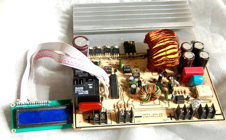 Design And Build Of A 48v 40a Mppt Solar Charge Controller