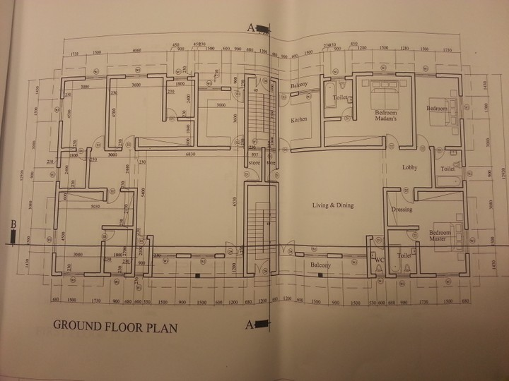 Cost of decking a storey building 2 flats 3 bedroom for How much does it cost to print blueprints