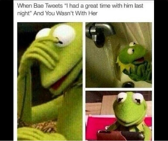 Re Funny Kermit The Frog Memes By Lomaxx Am On Jul