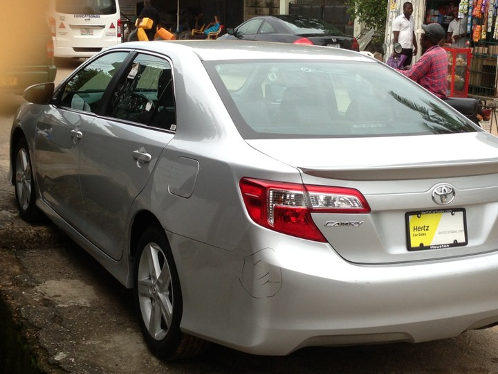 2013 toyota camry sports edition for sale call now autos nigeria. Black Bedroom Furniture Sets. Home Design Ideas
