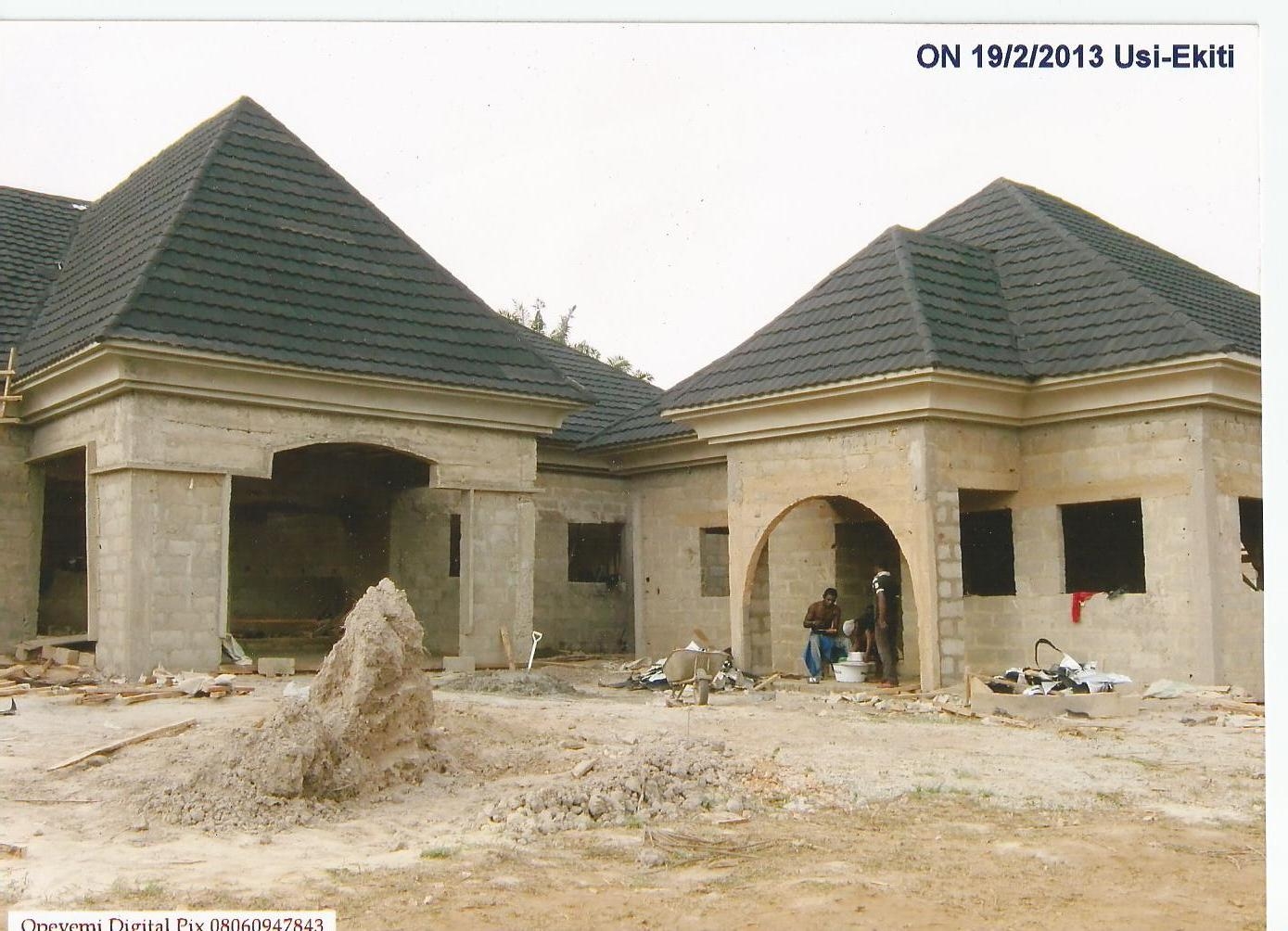 See some project carried out by batlan roof picture properties nigeria