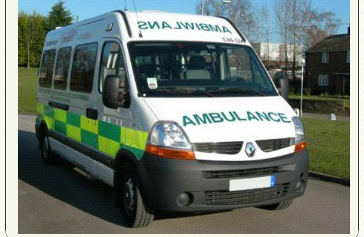 "Mod Police Recruitment >> Why The Word ""AMBULANCE"" Is Written Backward - Education (5) - Nigeria"