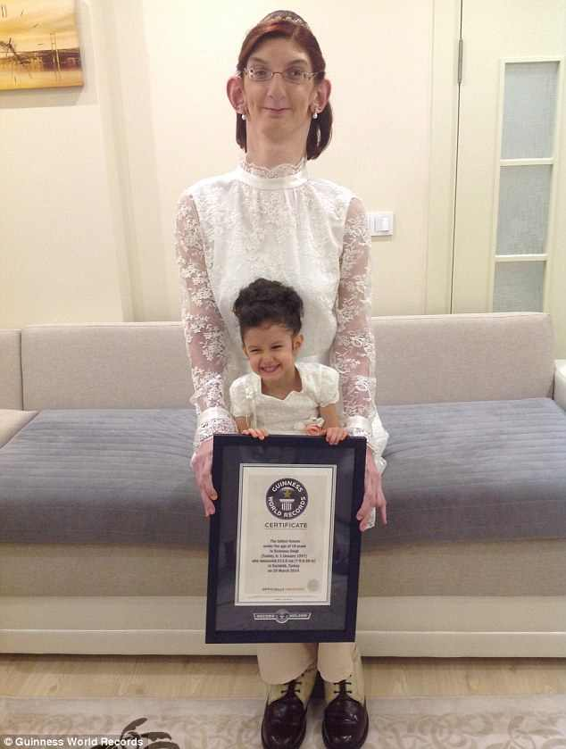 PHOTOS :17 Year Old Turkish Girl Is Officially Declared ...