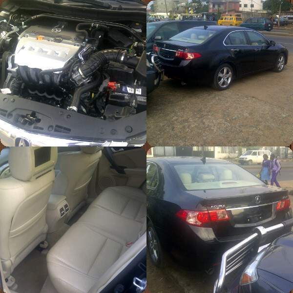 Tokunbo 2012 Acura Tsx @ 4.6m Sold! Sold!! Sold!!!