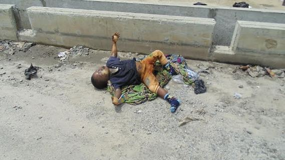 Graphic Pics Female Ritualist Caught With Corpse Of A 3yr
