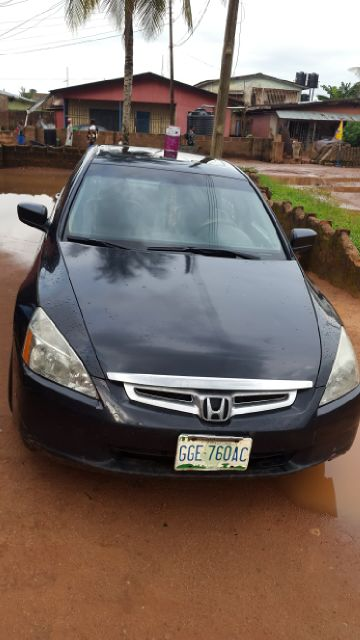 registered honda accord 2005 model v6 for sale autos. Black Bedroom Furniture Sets. Home Design Ideas