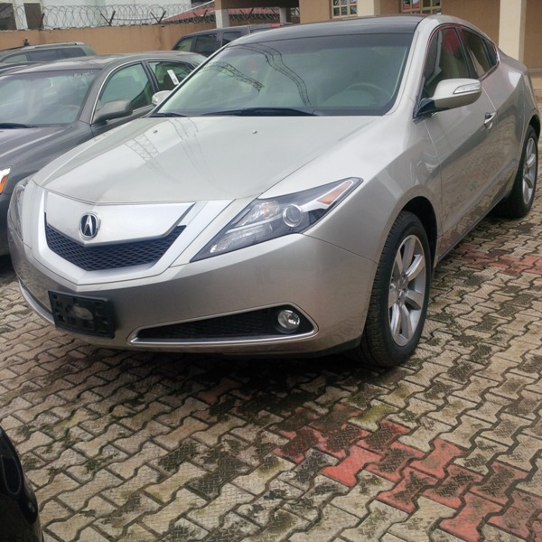 SOLD! Tokunbo 2012 Acura ZDX Technology Package