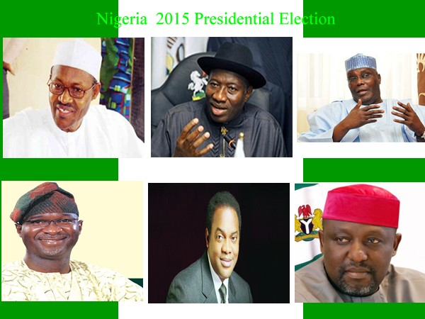 Nigeria 2015 Presidential Election - Politics - Nigeria