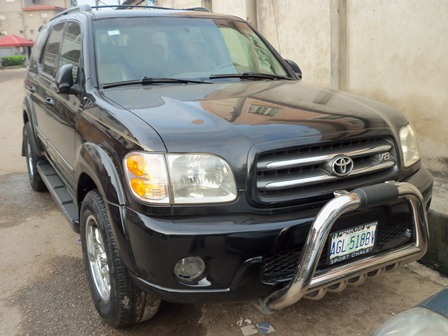 used 2003 toyota sequoia v8 4wd limited autos nigeria. Black Bedroom Furniture Sets. Home Design Ideas