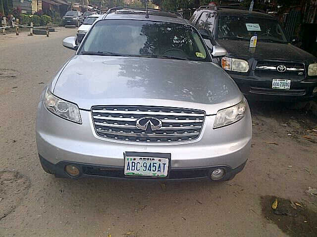 few month spotless used 2006 infiniti fx35 for sale autos nigeria. Black Bedroom Furniture Sets. Home Design Ideas