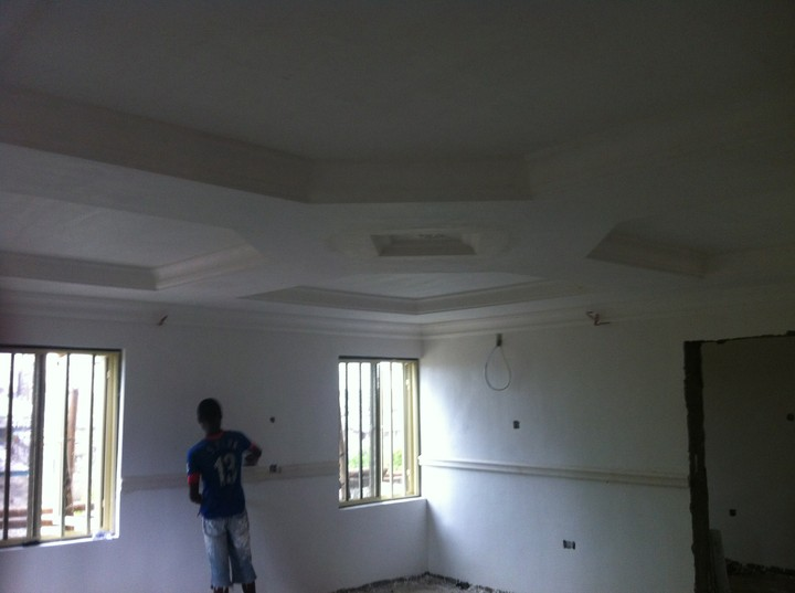 Pics budget p o p ceiling interior decoration for Interior decoration nairaland