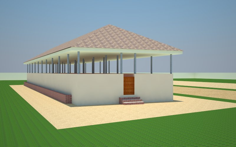 Piggery house construction design details agriculture for Farm house construction plans