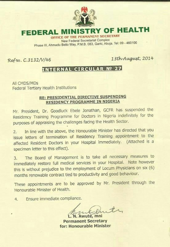 Breaking FG Sacks All Resident Doctors
