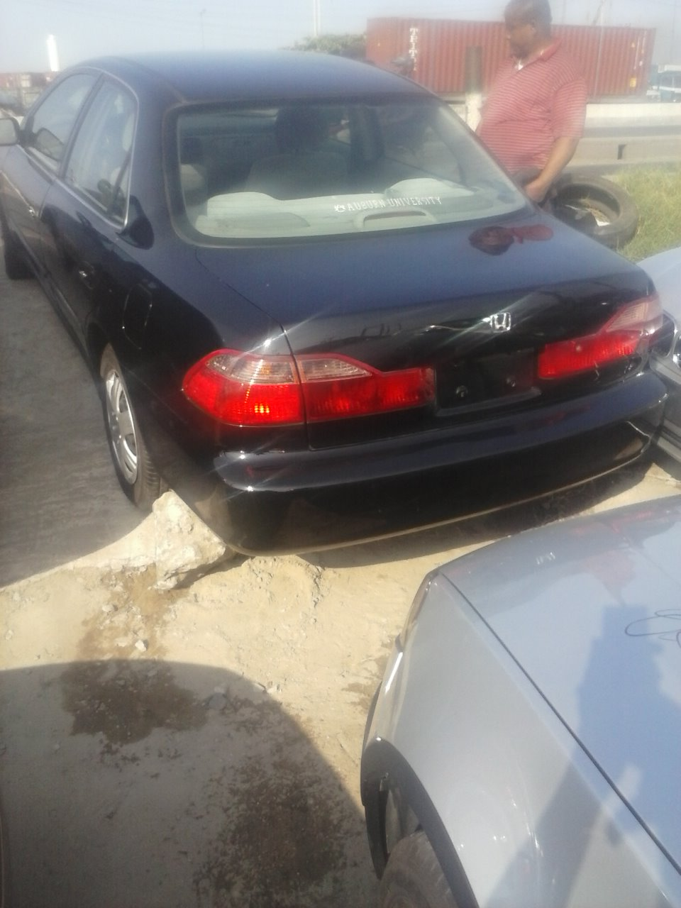 Extremely Clean Tincan Cleared Honda Accord 1999 98just 850k Interior Very Neat 1998 Deep Blue Factory Ac Fabric Radio Cd Locationberger Auto Market Lagos Whatsapp Or Call Chibuzo On 08096577304