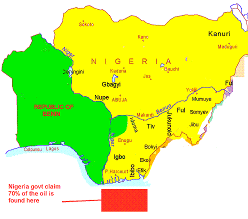 biafra map with Cross River State Not Part on EditorsIntroduction likewise Dead Kennedys Poster furthermore File Gulf of Guinea 5 24136E 2 58756N together with Aula 33 2 Ano Em Conflitos Etnicos further Geography of Cameroon.