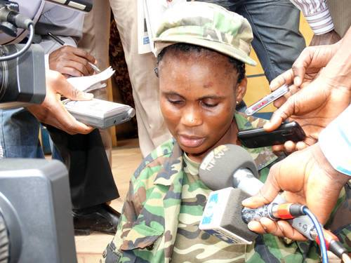 Naija News: Woman Pretending To Be A Soldier Rearrested In ...