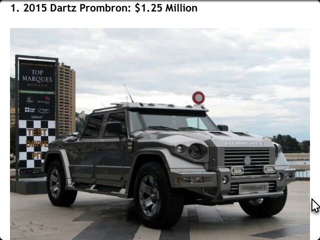 top 10 most expensive suvs on the market in 2014 autos nigeria. Black Bedroom Furniture Sets. Home Design Ideas