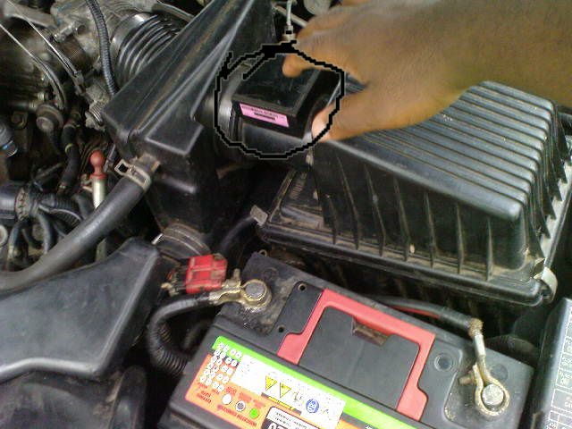 2000 honda cr v m air flow sensor location  2000  free