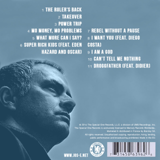 Arsene wenger and jose mourinho set to release their rap albums the blueprint album which when one considers how the portuguese tactician laid the foundations for success at the club before leaving and then malvernweather Choice Image