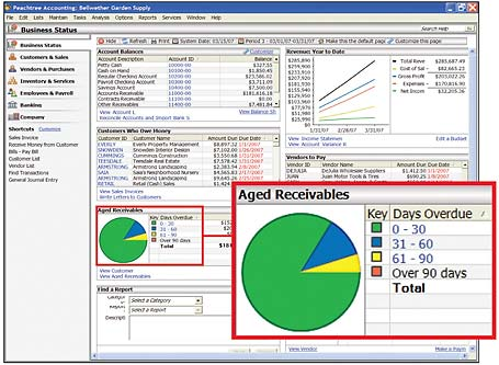 peachtree tally erp daceasy advanced excel quickbooks