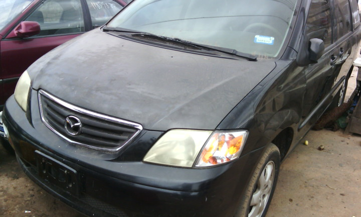 foreign used tokunbo mazda mpv lx year 2000 auto drive factory fitted a c autos nigeria. Black Bedroom Furniture Sets. Home Design Ideas