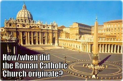 the origin of the roman church