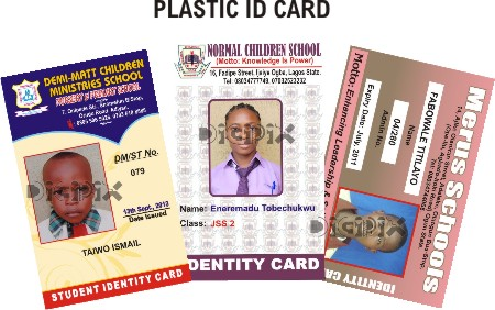 print your beautiful computerised plastic id card for schools companies churches complementary cards etc n100 only 2000 n150 100 - Plastic Id Cards