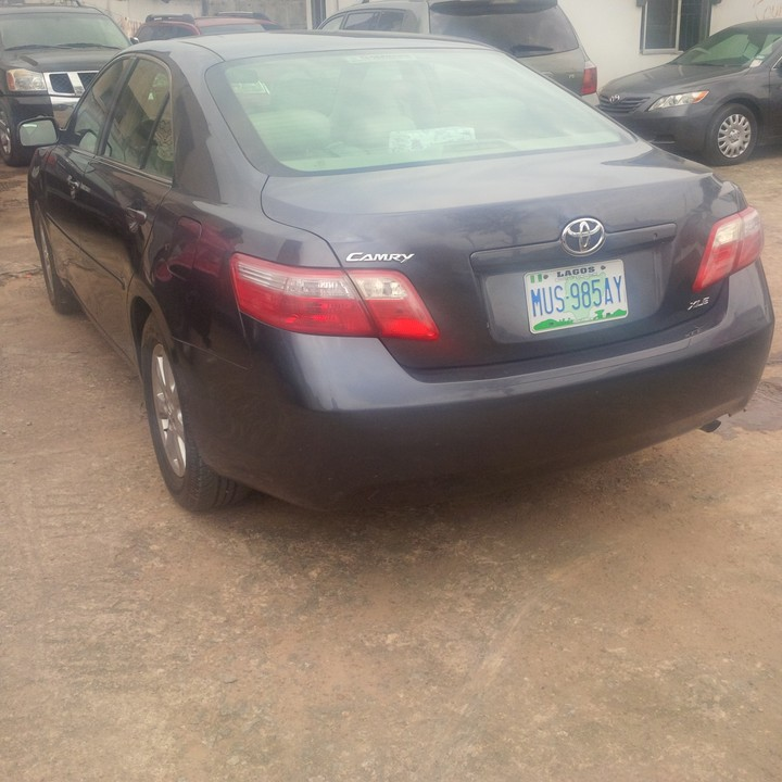 sold nigerian used 2008 toyota camry bought brand new. Black Bedroom Furniture Sets. Home Design Ideas