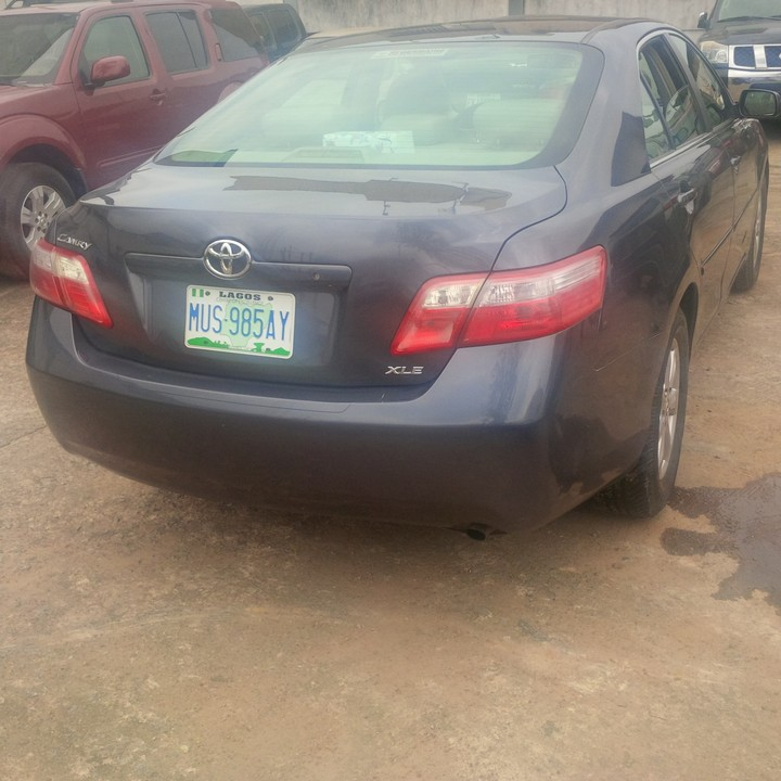 sold nigerian used 2008 toyota camry bought brand new autos nigeria. Black Bedroom Furniture Sets. Home Design Ideas