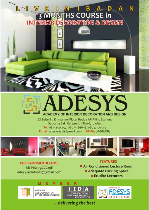 Air Conditioned Class Room Part Time And Full Classes Available For Enquireskindly Call 0814235555708073186698adesysaiddgmailvisit