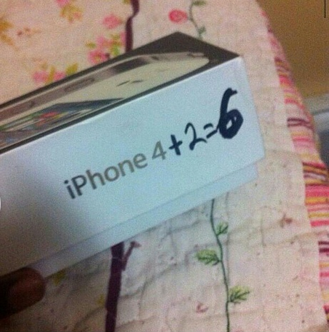 my girlfriend refused an iphone 6 as gift pictures jokes etc