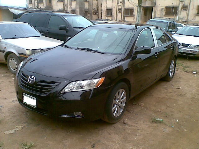 clean naija used toyota camry le spider 2008 n1. Black Bedroom Furniture Sets. Home Design Ideas