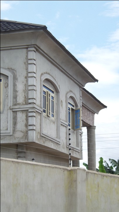How we built the luxury block of flats in enugu for Nigeria window design