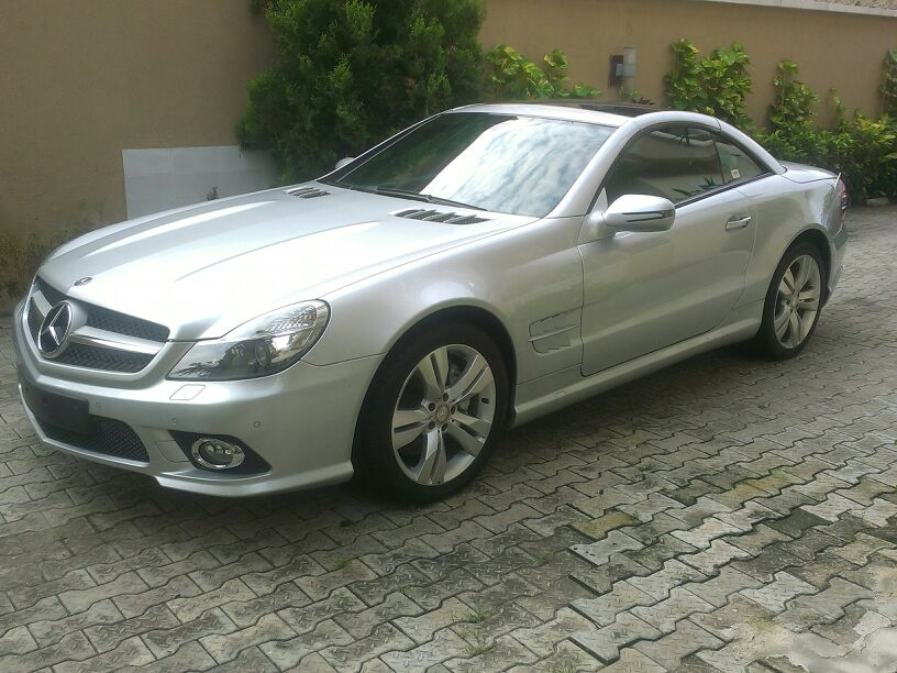 2010 mercedes benz sl500 convertible sold autos nigeria