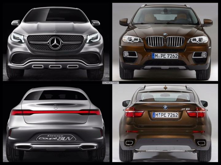 2015 Mercedes Benz Concept Coupe SUV To Go Into Battle With BMW X6  2015.Which Would You Love To Own ?