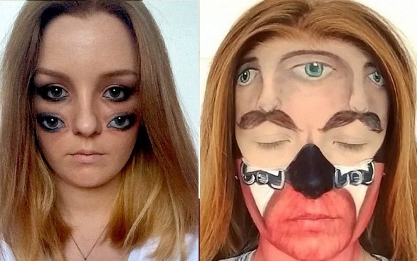 Amazing-this Makeup Artist Can Transform Herself Into