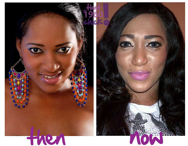 Top Nigerian Celebrities Before And After Plastic Surgery