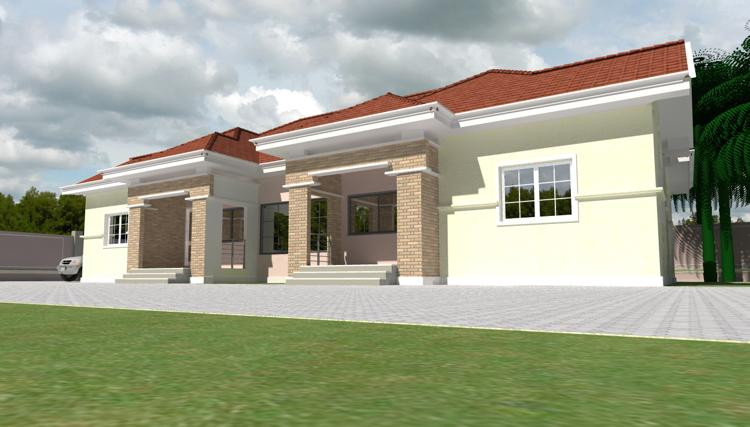 House plans and design modern house plans in nigeria for Modern duplex house plans in nigeria