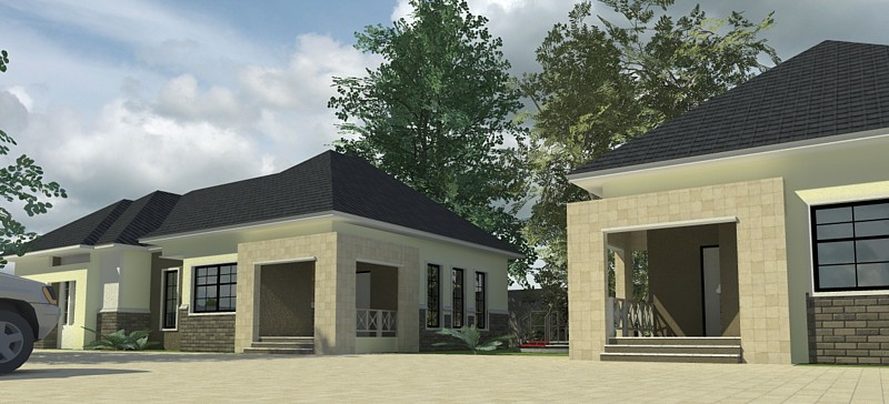 Modern bungalow designs with pictures in nigeria joy for Modern bungalow house designs in nigeria