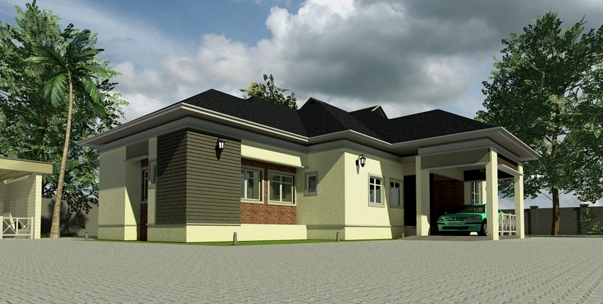 Home plans for bungalows in nigeria properties 1 for House plans nigeria