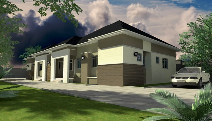 Home plans for bungalows in nigeria properties 2 for Nigerian home designs photos