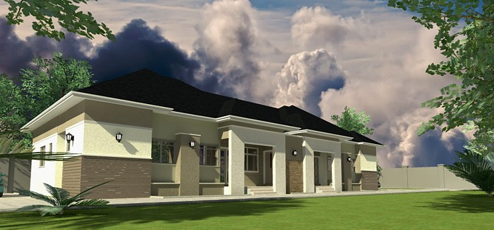 Portable 2 Bedroom House : Home plans for bungalows in nigeria properties