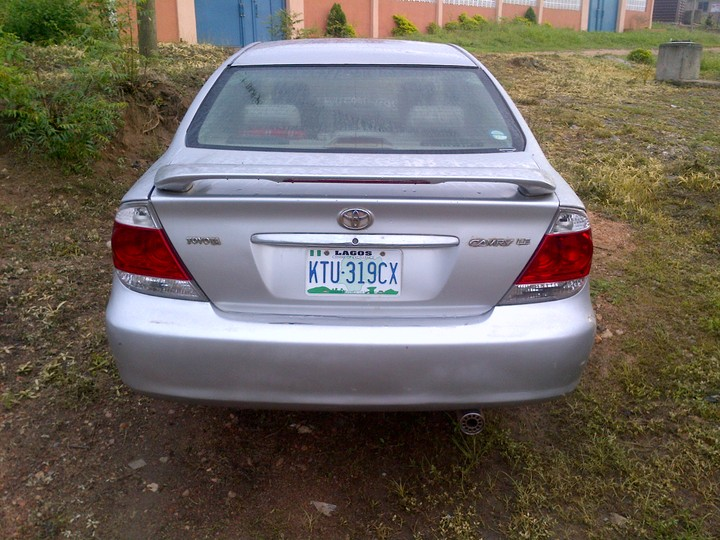 toyota camry 2005 for sale used autos nigeria. Black Bedroom Furniture Sets. Home Design Ideas
