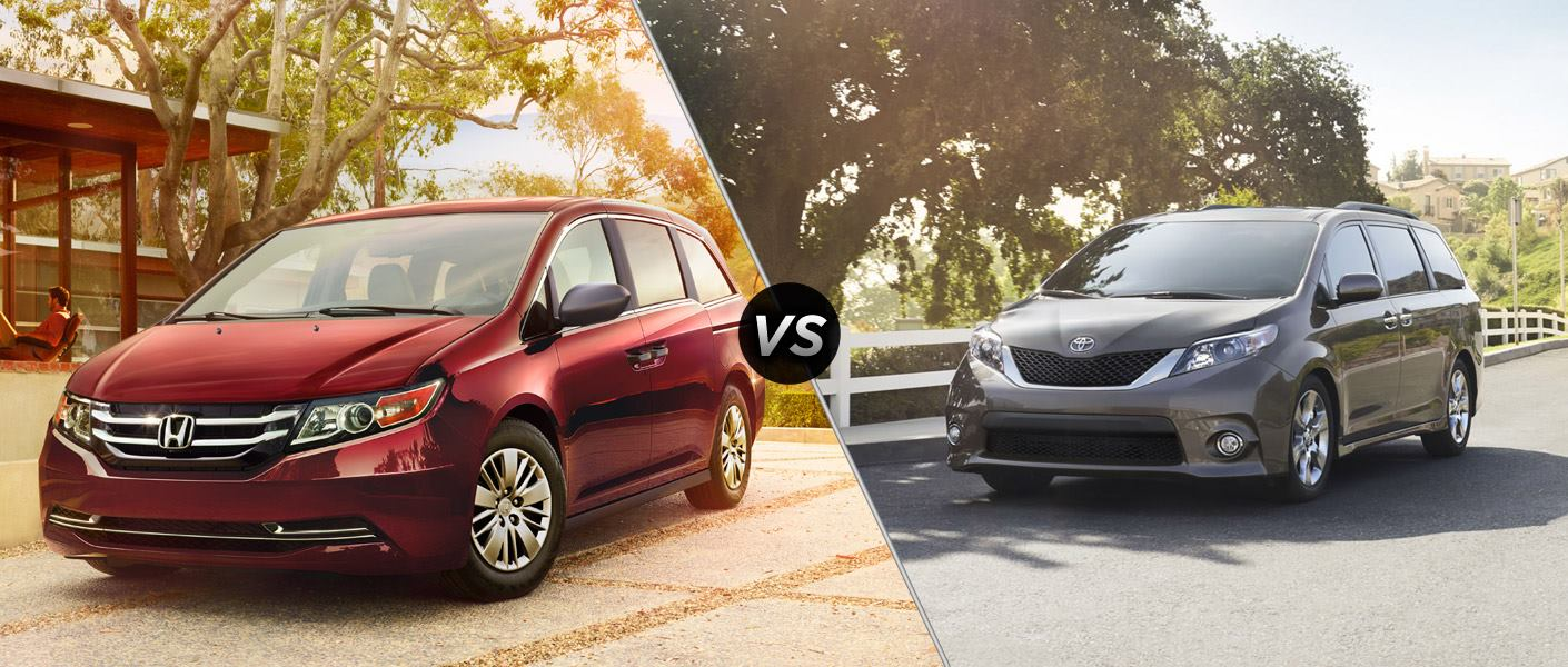 Toyota Sienna VS Honda Odyssey Which Do You Prefer For Your Family ?