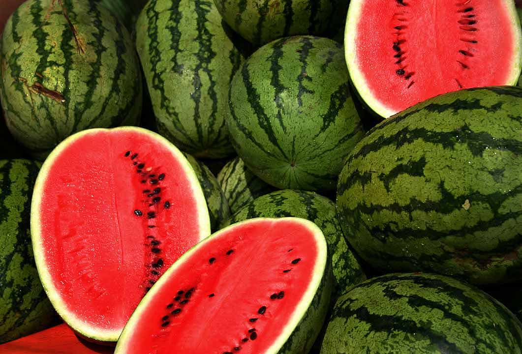 How to properly plow a watermelon