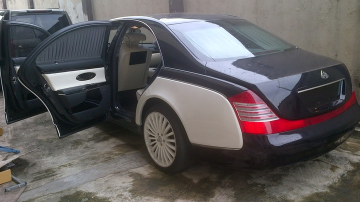 2007 mercedes maybach 62 price reduced 92m fixed come and pay autos 1 nigeria. Black Bedroom Furniture Sets. Home Design Ideas