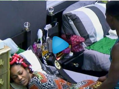 Nigerian Big Brother Housemate, Lillian Gets 'ass Massage' From ...
