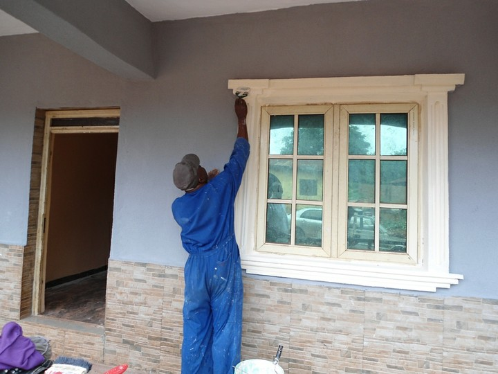 Thread for property owners on types of paint pictorial for Nigeria window design