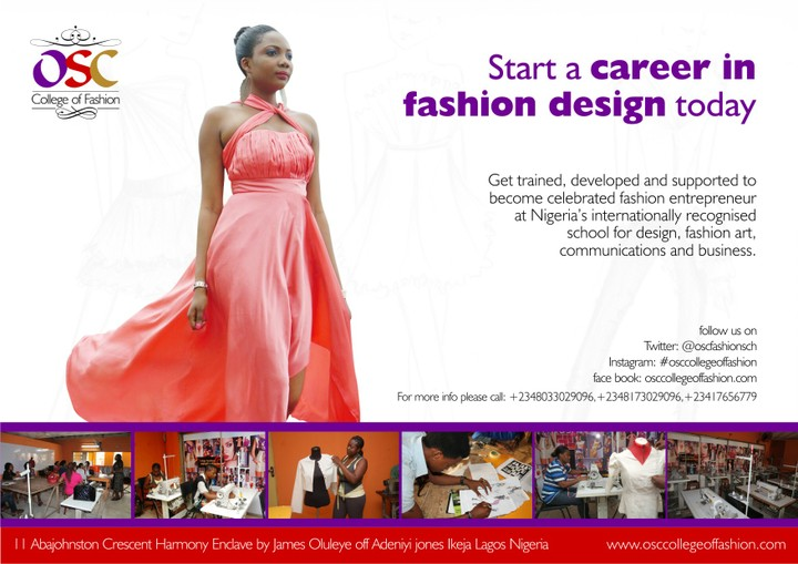 School Of Fashion Design In Nigeria School Style